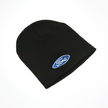 Black Ford Beanie Hat