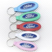 Leather Ford Keyring