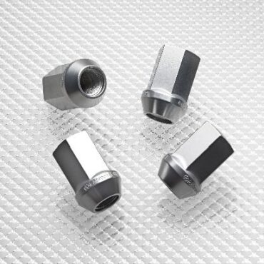 Aluminium Wheel Nuts - Silver