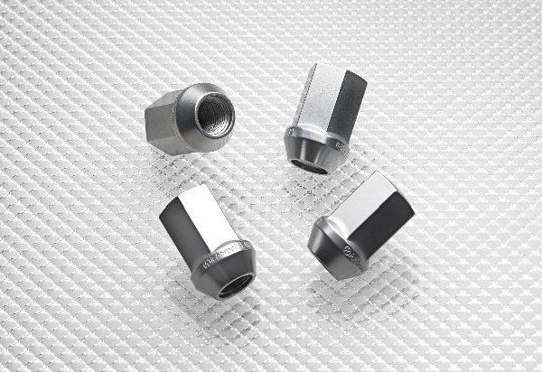 Aluminium Wheel Nuts - Silver