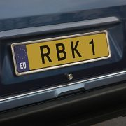 Richbrook Stainless Steel Number Plate Surround