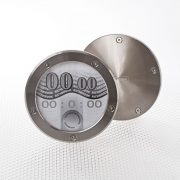 Richbrook Twist Off Back Tax Disc & Permit Holder - Titanium