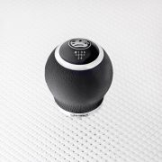 Richbrook Vauxhall Leather Gear Knob - Official Vauxhall Accessories