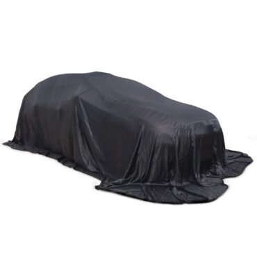 Car Reveal Cover Black