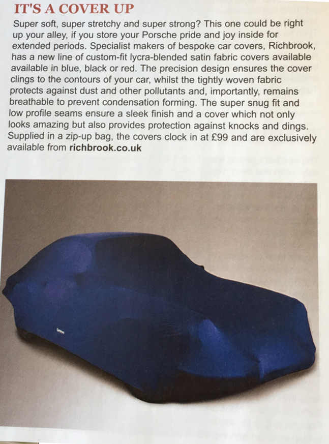 Richbrook Editorial Car Cover