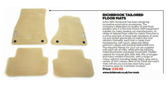 Richbrook Tailored Floor Mats