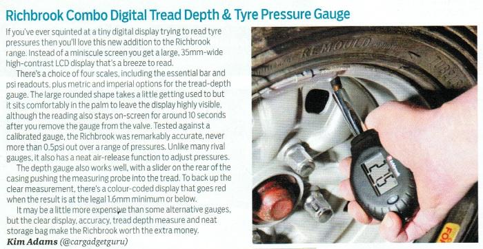 Tyre Pressure Gauge Press