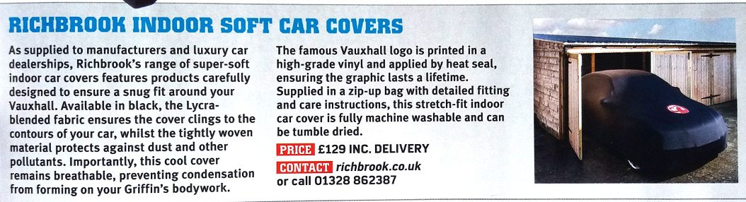 Vauxhall Car Cover