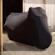 Black Indoor Motorcycle Covers Shed - Motorbike Covers