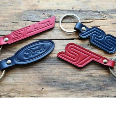 Ford, RS, ST Embossed Keyrings