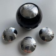 Black Vauxhall Gear Knob
